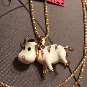 Adorable Cow Necklace